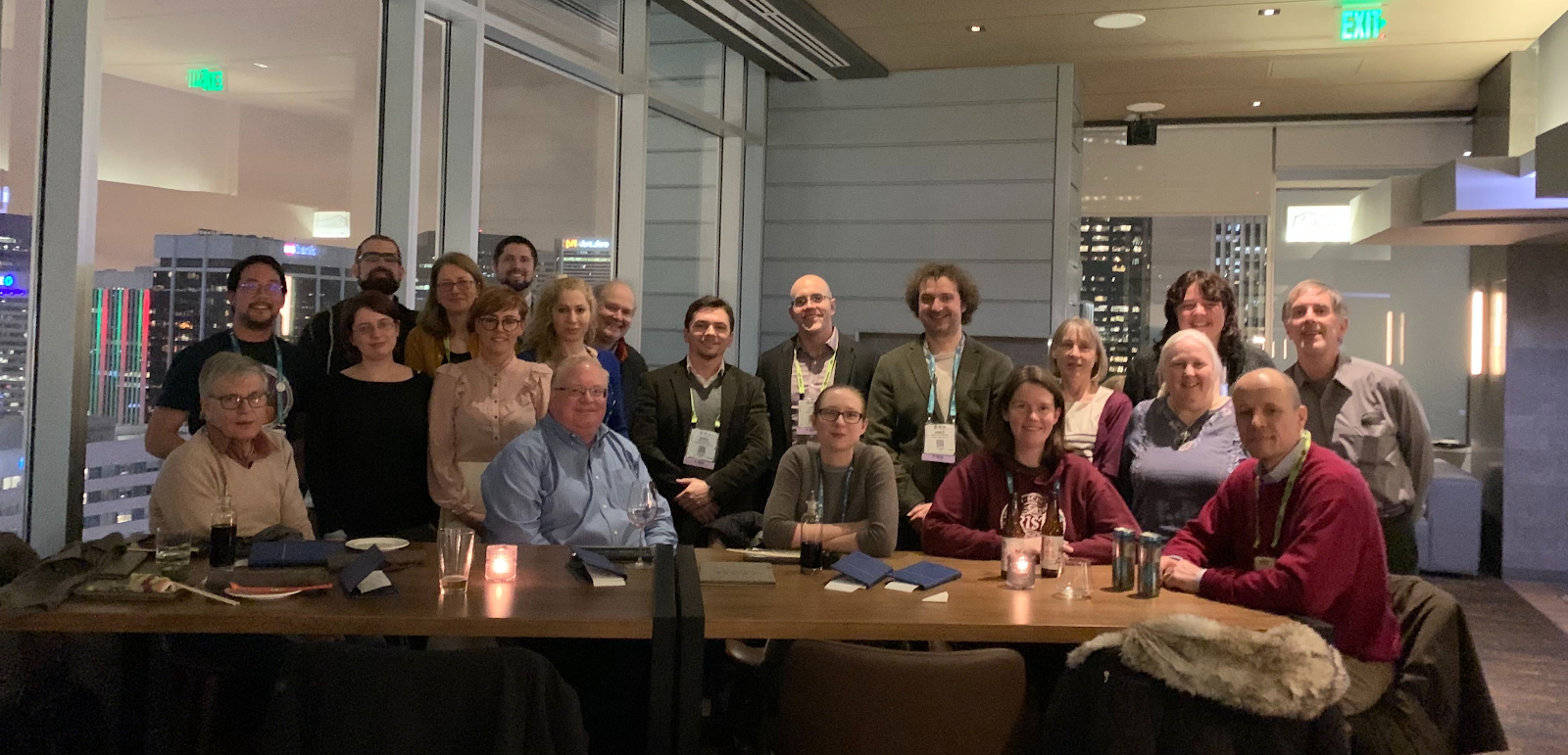 US-RSE Social at SC19 (Photo credit: Semir Sarajlic)